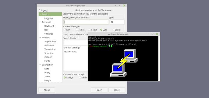 نحوه اتصال به SSH در سرور های لینوکس