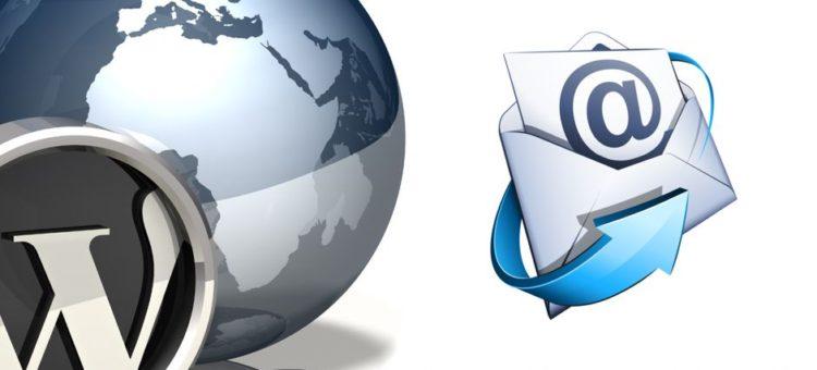 ارسال ایمیل آسان و امن با وردپرس