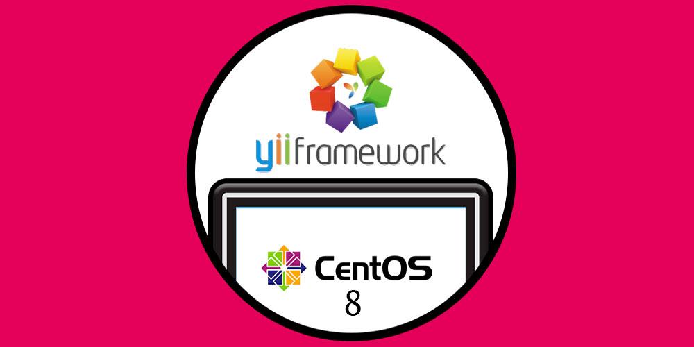 نصب فریم ورک Yii در CentOS 8