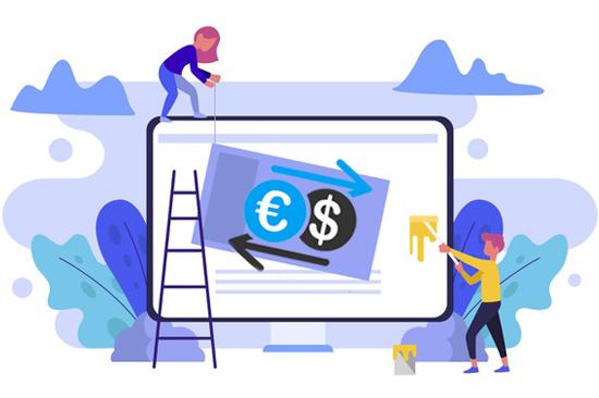 طراحی سایت خرید و فروش ارزهای دیجیتال