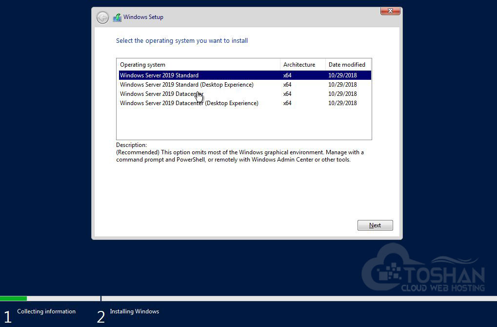 آموزش نصب و راه اندازی ویندوز سرور