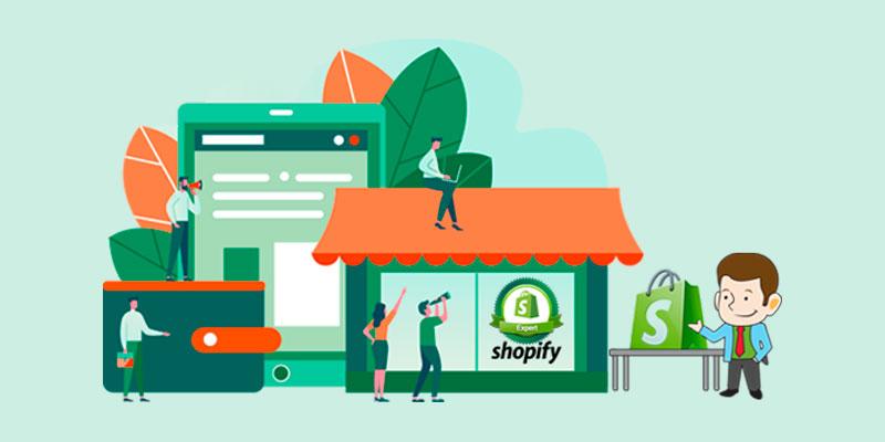 طراحی سایت فروشگاهی با shopify