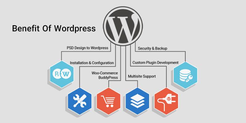 ۲۰ مزایای طراحی سایت با وردپرس