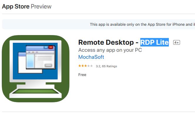 آموزش وصل شدن به سرور مجازی بورس از طریق آیفون (iphone)با نرم افزار RDP Lite